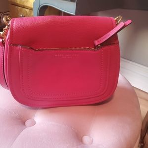 Marc Jacobs pink leather crossbody